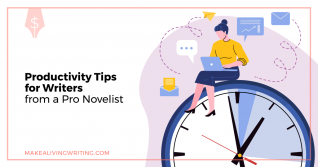 Productivity Tips: How One Pro Cranks Out 2 Novels a Year