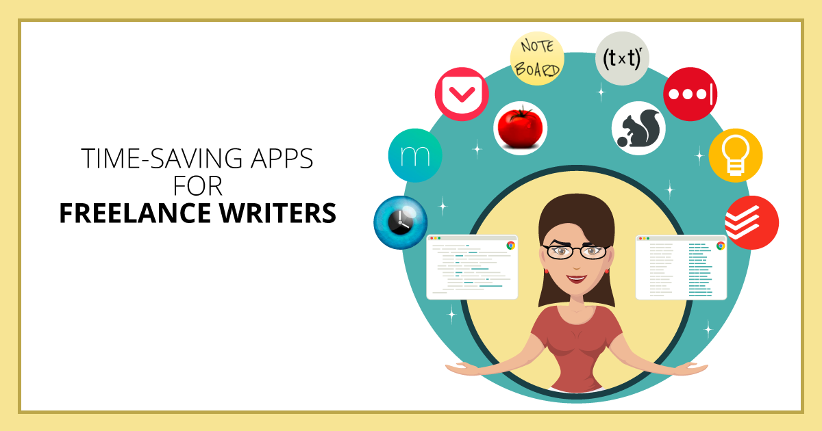 Time-Saving Apps for Freelance Writers. Makealivingwriting.com
