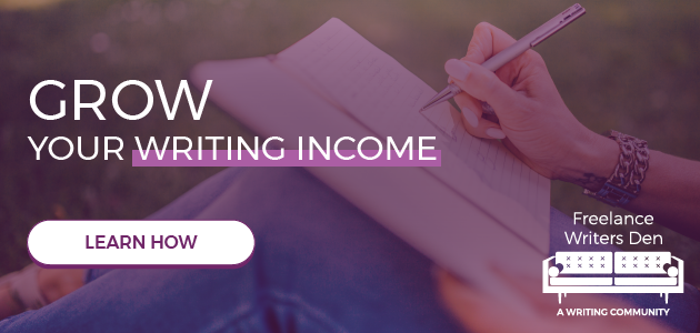 Freelance Writers Den: Ready to grow your income? Sign up for the waiting list.