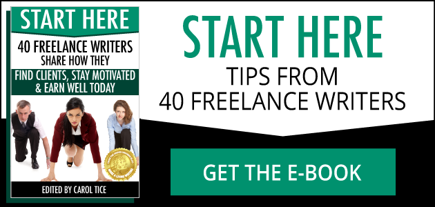 Start Here: Tips from 40 Freelance Writers